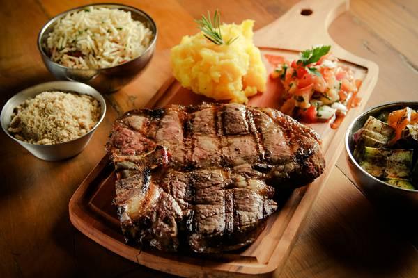 brasa carne prato