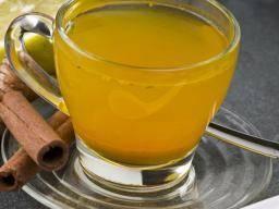 chá curcuma