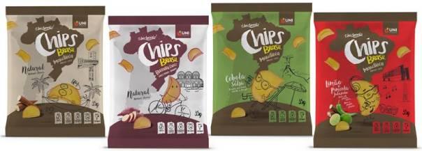 chips mandioca todos