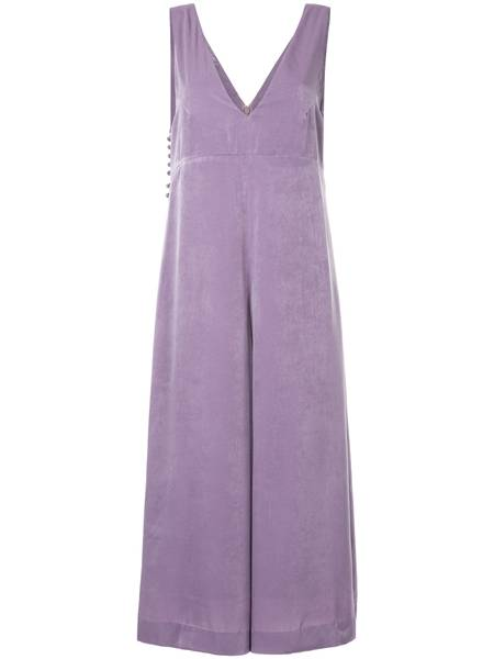 Cropped wide leg jumpsuit Cityshop na FARFETCH de R$1.710,00 por R$835,00