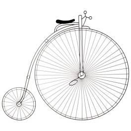 fiets_adorno_parede___preto
