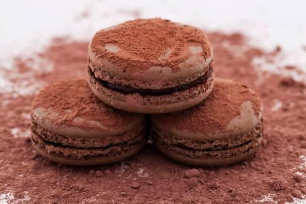 macaron chocolat passion