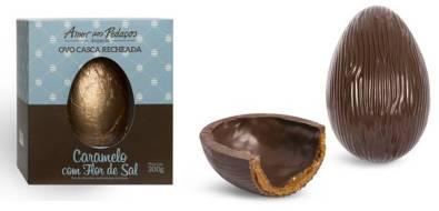 Amor aos Pedaços - Ovo Caramelo Flor de Sal 300g - R$ 95,80