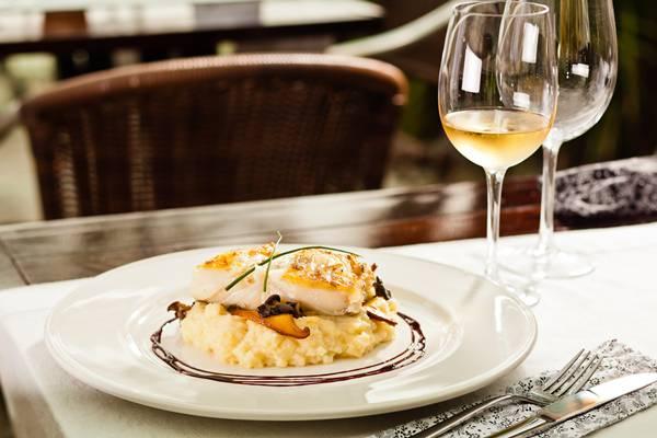 bacalhau com vinho branco