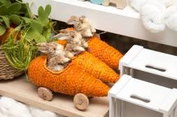 Camicado - Carro Decorativo Bunny Rustic 35x15cm - R$ 59,90