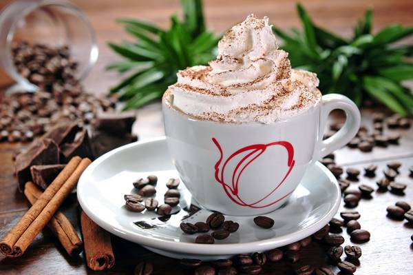 Cappuccino com Chantilly_