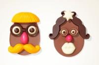Chocolat du Jour - Ovo divertido (montado) (300g e 630g) - R$ 195 e R$ 389