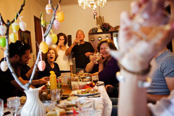 familia almoço mesa tapatalk