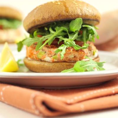 hamburguer salmão