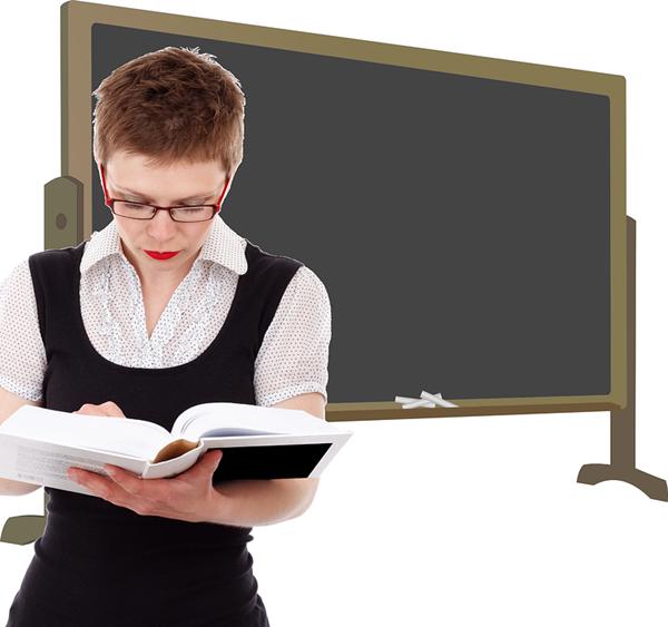 professora classe lousa aula
