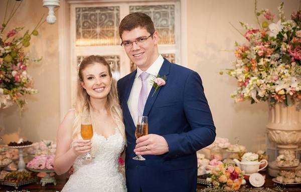 casamento brinde