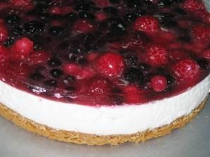 Cheesecake banco de imagem