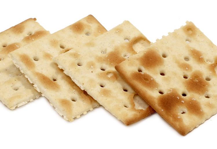 crackers biscoito bolacha agua e sal