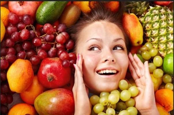 pele beleza alimentação frutas mulher