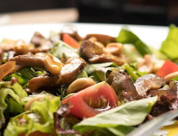 salada de shitake kony