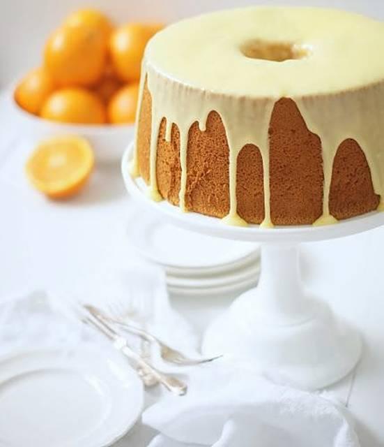 bolo de arroz citrico