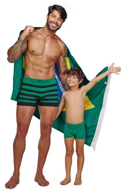Boxer Ultraleve Listrada e Brasil 090908-090207