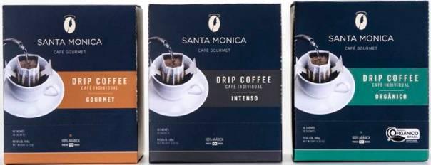 CAFE SANTA MONICA - NOVAS EMBALAGENS