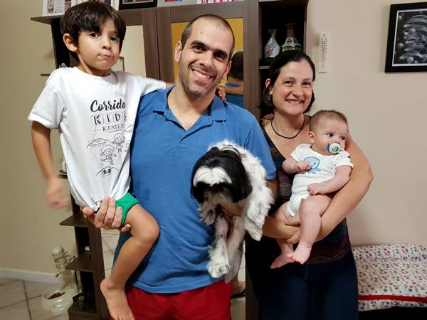 Foto Cecília e Família