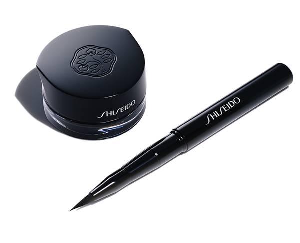 Shiseido Inkstroke Eyeliner and Inkstroke Eyeliner Brush