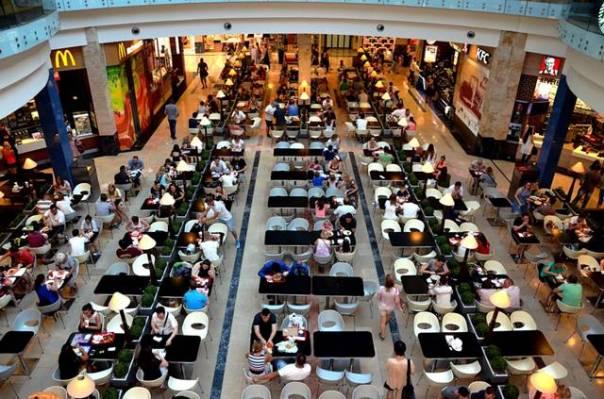 shopping praça alimentação pixabay