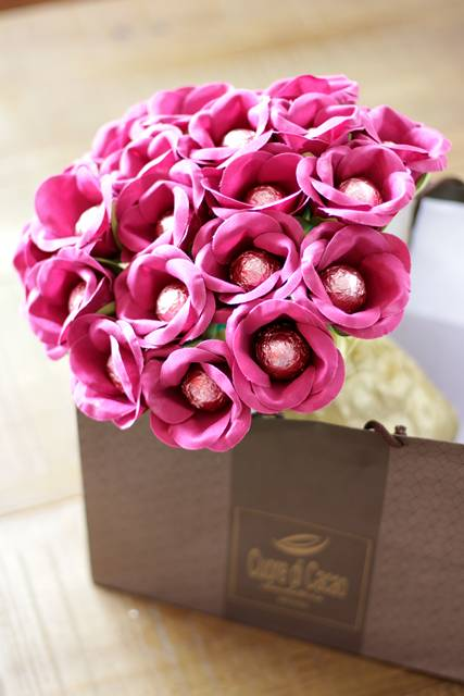 chocolate rosa