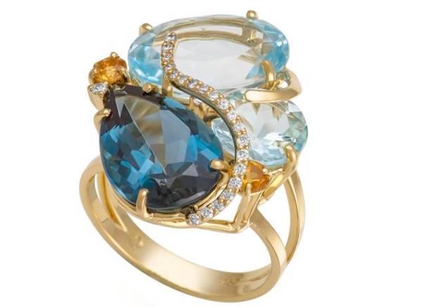 Coleção Arara Azul anel 1