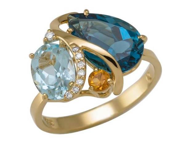 Coleção Arara Azul anel