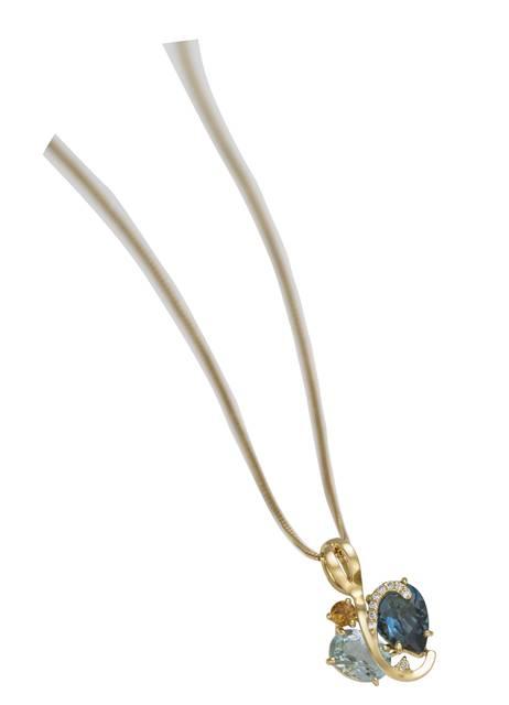 Coleção Arara Azul pingente 1