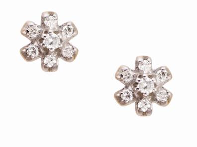 Coleção True - Brinco em Ouro amarelo com Diamantes