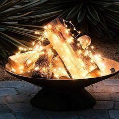 fogueira de luz