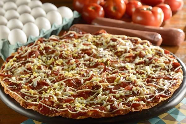Pizzaria Villa Roma Pizza de Calabresa Especial