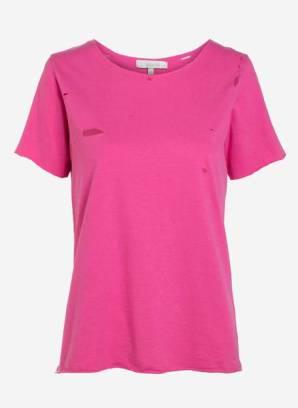 ROSA CHÁ_T-shirt rasgos_DE R$198 POR R$118,80