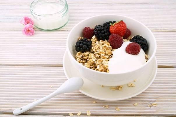 aveia iogurte frutas pixabay