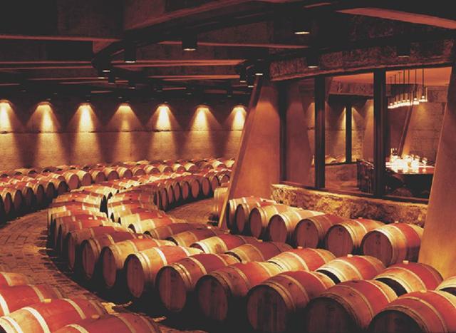 barris vinho adega