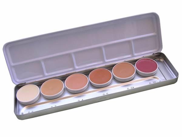 KRYOLAN - dermacolor paleta 6 cores - R$290
