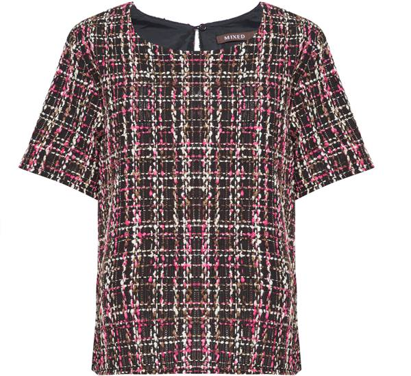 Mixed - Camiseta Tear Lea - DE R$ 790,00 POR R$395,00 na compra de 5 peças
