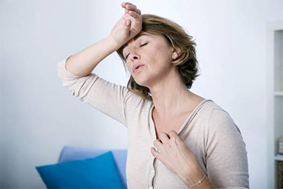 mulher calor fogacho menopausa
