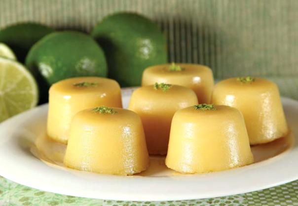queijadinha de limão
