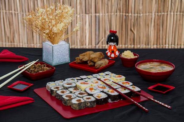 vem plast comida japonesa