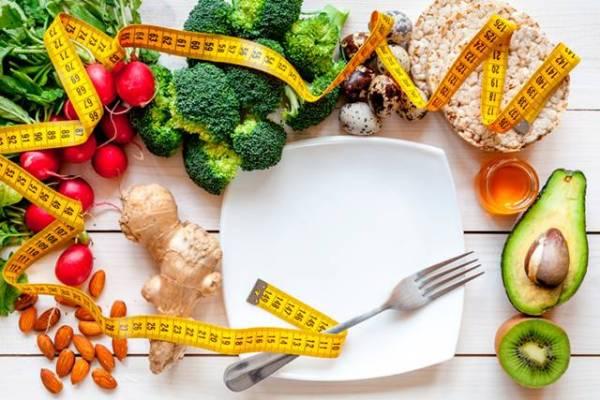 alimentos dieta prato fita metrica