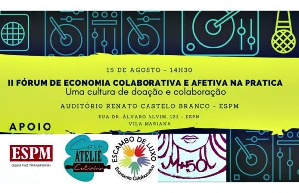 II Fórum de Economia Afetiva e Colaborativa na Prática - Imagem Divulgação