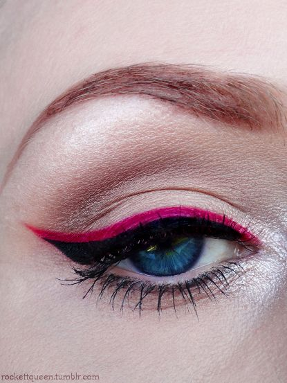 maquiagem delineador beleza pinterest