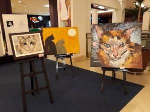 pintando gatos