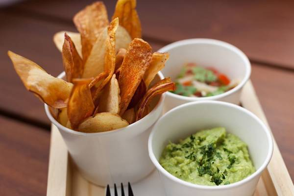 Bar_do_Beco_Mix Batata Chips Guacamole_9212