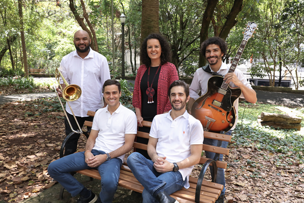 Jorginho Neto, Karine Aguiar, Felipe Garcia, Guilherme Berenguer e Anuar Tacach