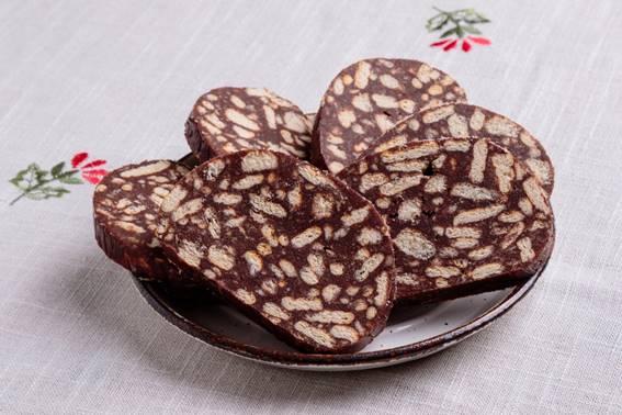 salaminho de chocolate divino