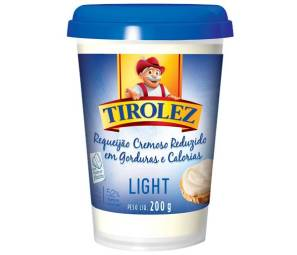 tirolez requeijão light