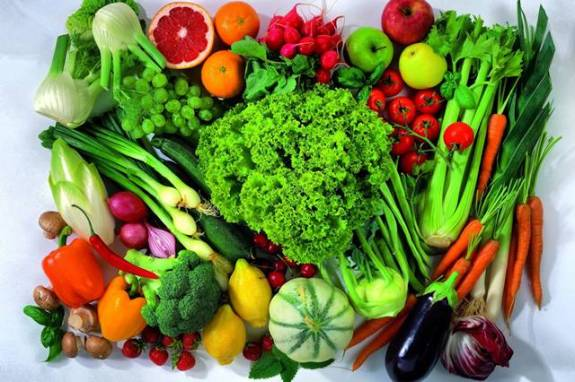 verduras legumes frutas