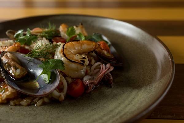 Vista restaurante _ Arroz de frutos do mar _ fotos Rubens Kato 4